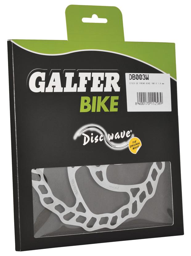Los nuevos discos de freno Galfer Disc Wave para bicicletas de montaña