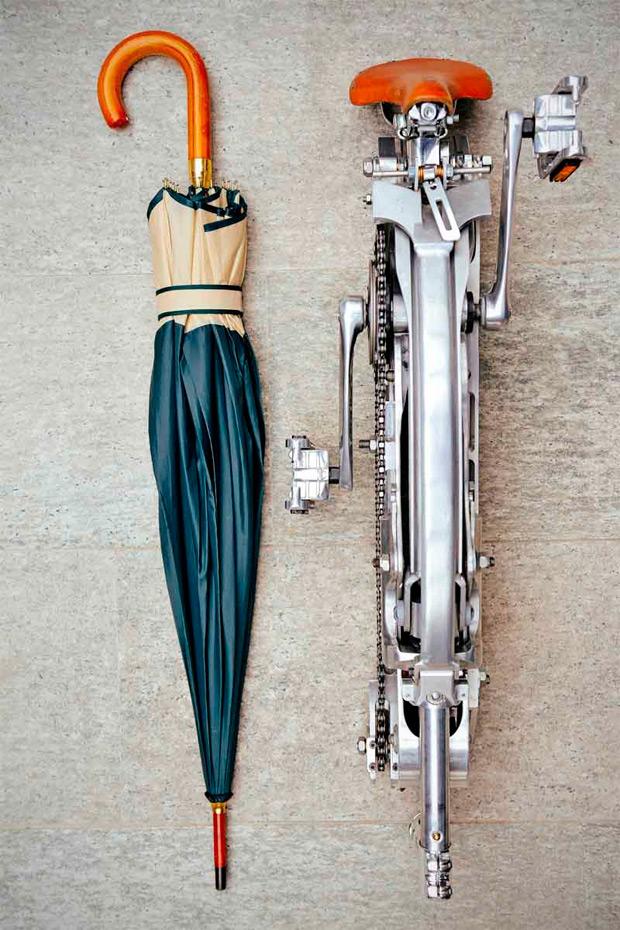 Sada: Una bicicleta urbana plegable sin bujes, sin radios y sin complejos