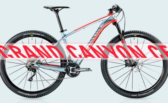 Grand Canyon CF 29 2015: La entrada de gama al carbono para las bicicletas XC más punteras de Canyon