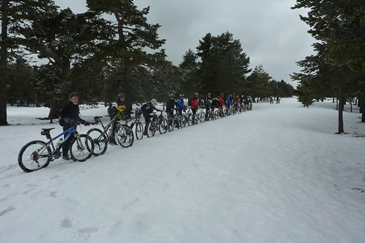 La foto del día en TodoMountainBike: 'Mountain Bike o Esquí de Fondo'