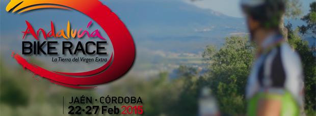 José Antonio Hermida en el anuncio promocional de la Andalucía Bike Race 2015