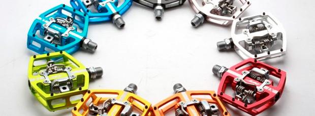 Los nuevos pedales mixtos X1 de HT Components
