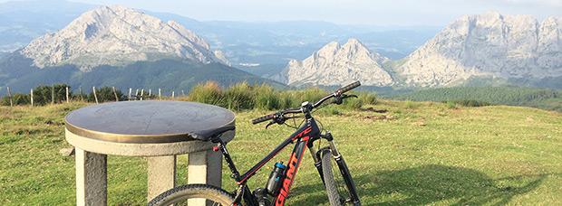 La foto del día en TodoMountainBike: 'La cima de Saibigain'