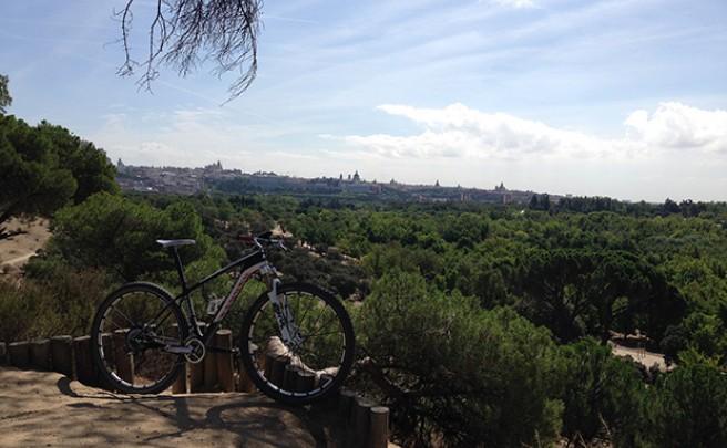 La foto del día en TodoMountainBike: 'En la Casa de Campo de Madrid'