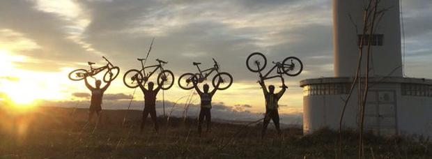 La foto del día en TodoMountainBike: 'Cantabria, ¡ To the north of the north !'