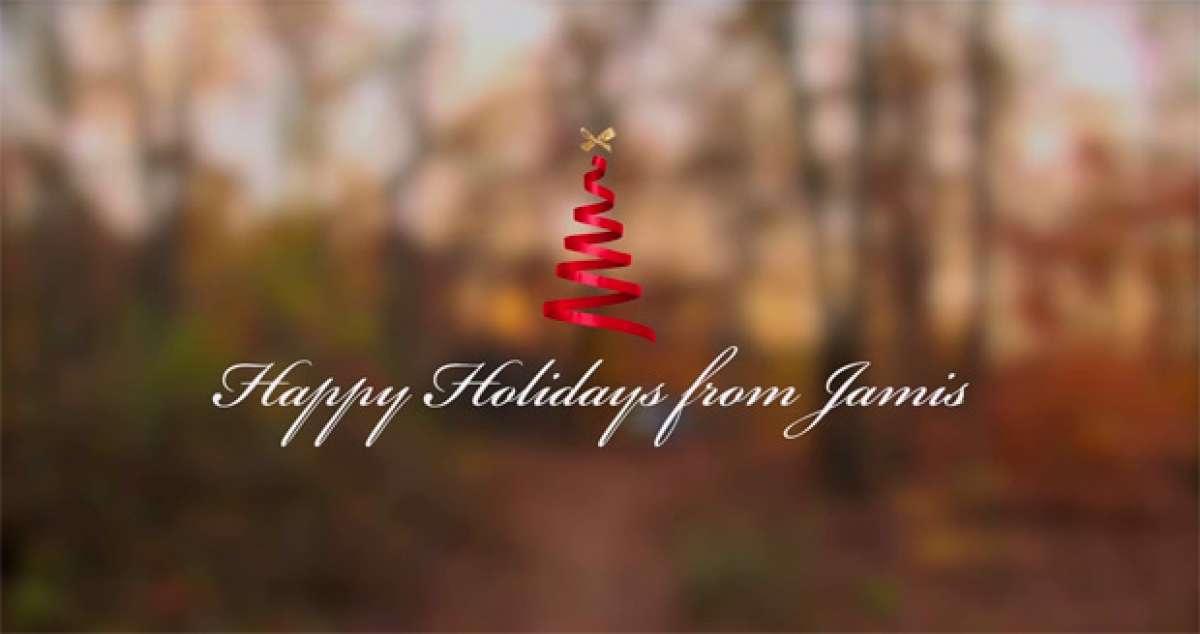 Genial anuncio de Jamis Bicycles para felicitarnos la Navidad