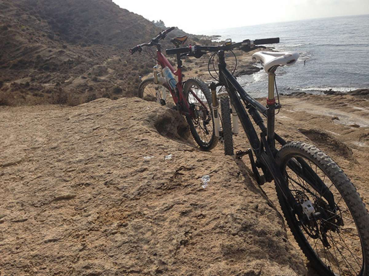 """La foto del día en TodoMountainBike: """"El Cabo de las Huertas (Alicante)"""""""