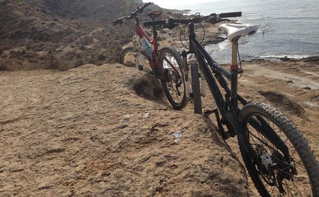 La foto del día en TodoMountainBike: 'El Cabo de las Huertas (Alicante)'