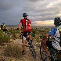 La foto del día en TodoMountainBike: 'El Valle del Sabinar (Alicante)'