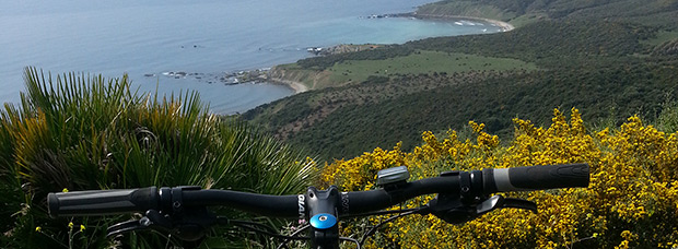 La foto del día en TodoMountainBike: 'Mirando Cala Arenas'