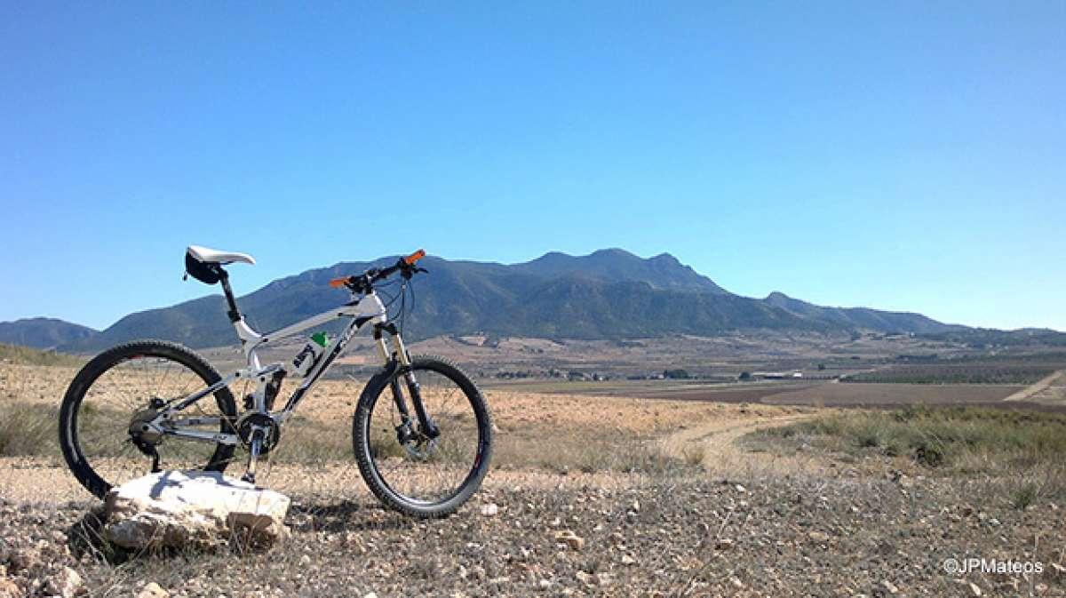 La foto del día en TodoMountainBike: 'Sierra del Carche (Jumilla, Murcia)'