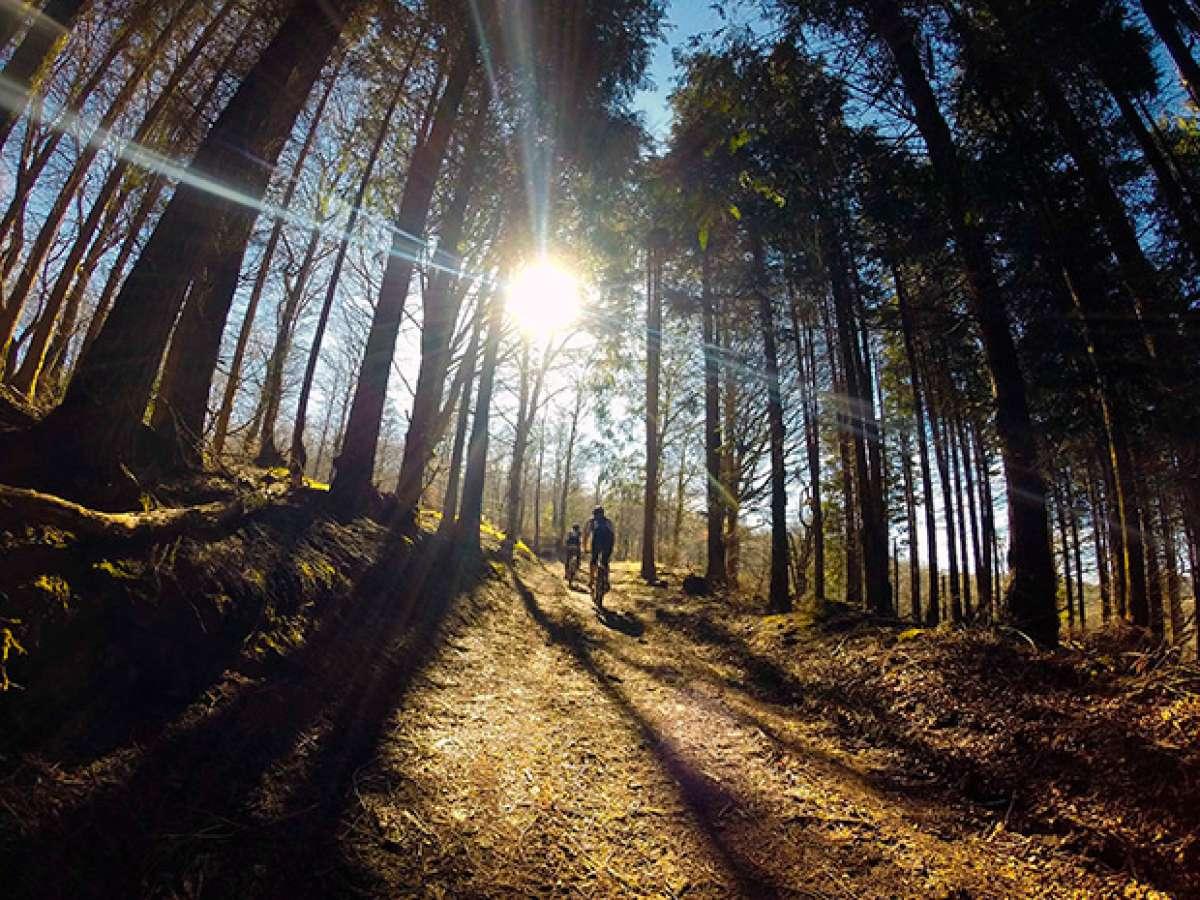 La foto del día en TodoMountainBike: 'Los primeros rayos de sol'
