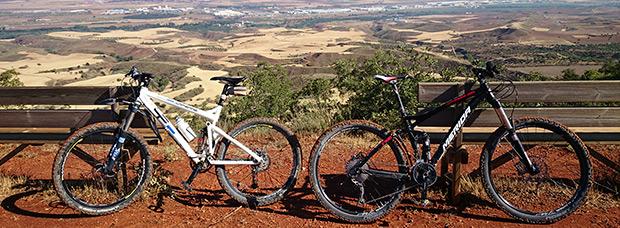 La foto del día en TodoMountainBike: 'Mirador del Pico de Peña Bermeja'