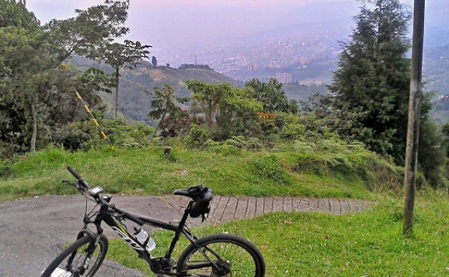 La foto del día en TodoMountainBike: 'La Catedral (Envigado, Colombia)'