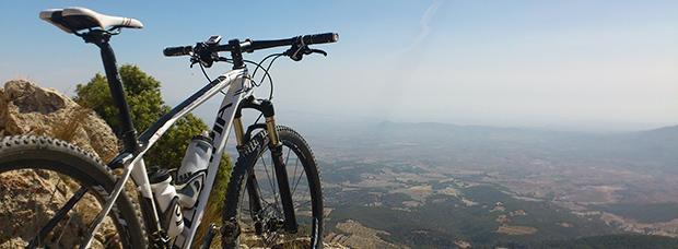 La foto del día en TodoMountainBike: 'Pico de la Selva'