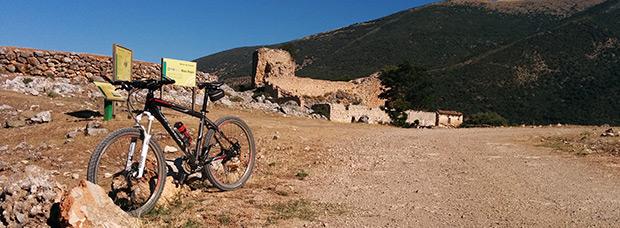 La foto del día en TodoMountainBike: 'Las ruinas de El Castillejo'