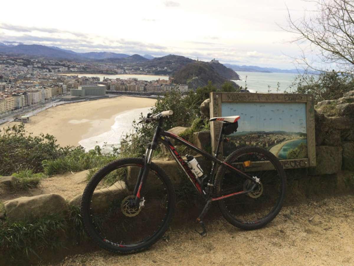 """La foto del día en TodoMountainBike: """"Desde San Sebastián"""""""