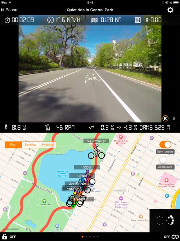 Kinomap Trainer: Una aplicación deportiva para entrenar en casa recorriendo rutas grabadas en vídeo