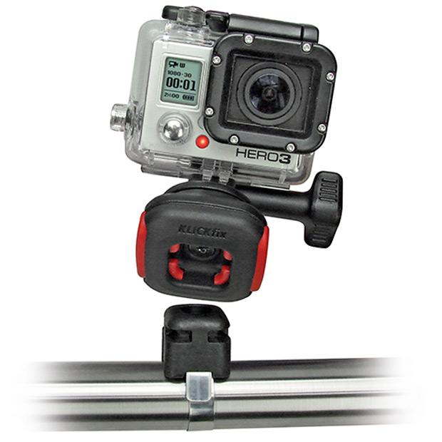 KLICKfix CamOn!: El sistema de fijación para cámaras GoPro más cómodo y rápido del mercado