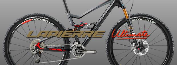 Lapierre Ultimate: El configurador a la carta de Lapierre, también disponible para bicicletas de montaña