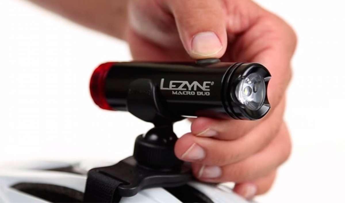 Lezyne Macro Drive Duo: Un faro delantero de 400 lúmenes con luz trasera integrada