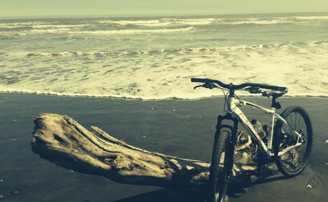 La foto del día en TodoMountainBike: 'La playa de La Mancha'