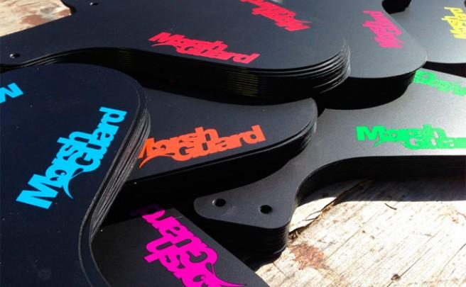 Un 'toque' de color para los nuevos guardabarros de Marshguard