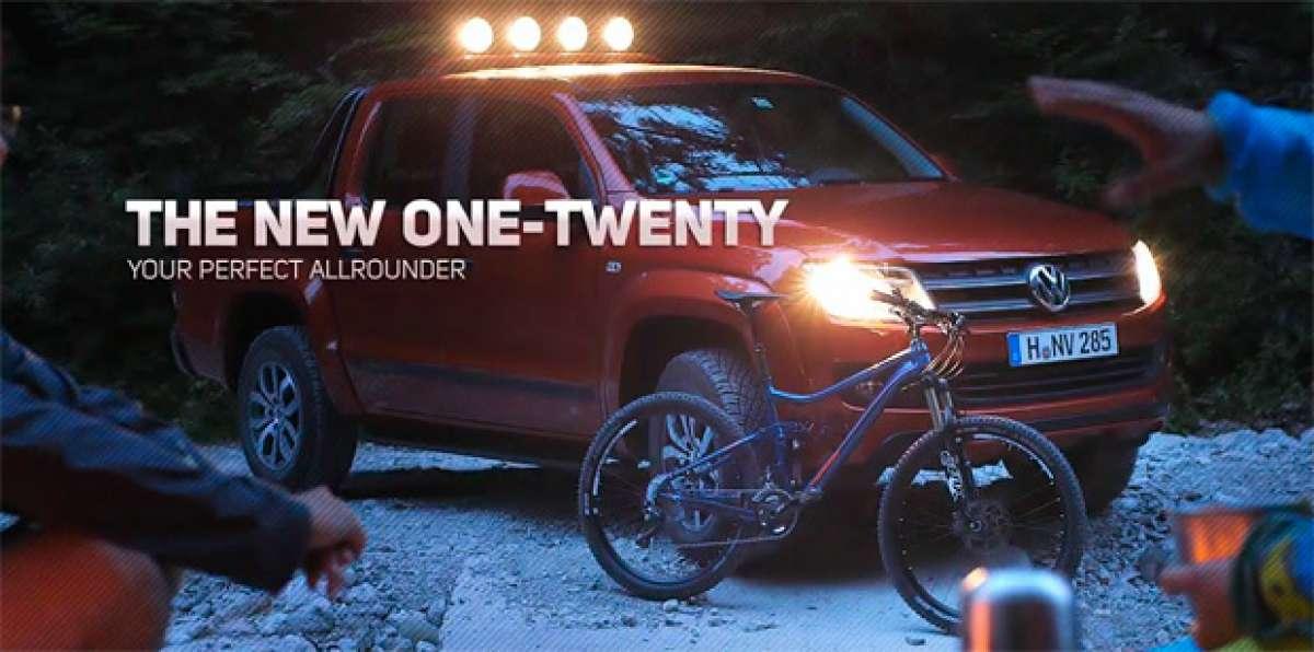 La nueva Merida One-Twenty de 2015 en acción