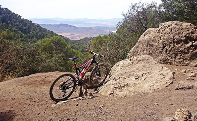 La foto del día en TodoMountainBike: 'La Cueva del Lagrimal'