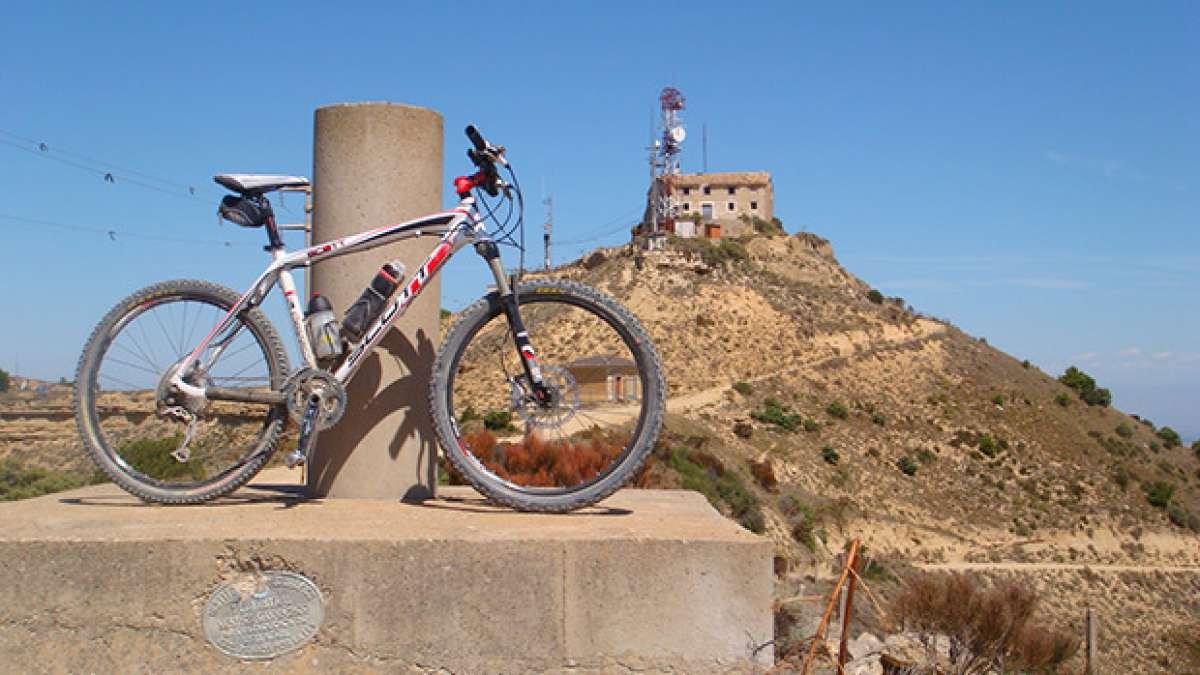 La foto del día en TodoMountainBike: 'San Caprasio - Sierra de Alcubierre'