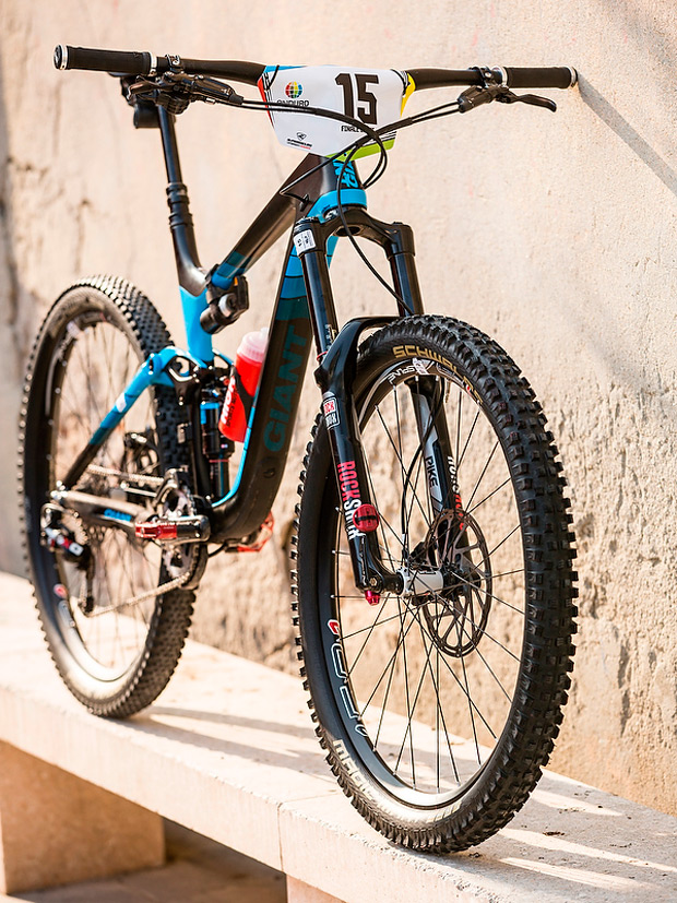 Bicis PRO: La Giant Reign Advanced 27.5 de Yohann Barelli