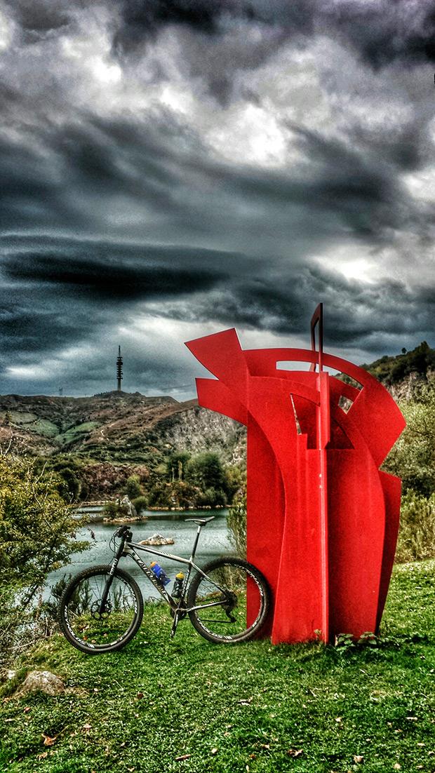 """La foto del día en TodoMountainBike: """"Argalario (Bizkaia)"""""""