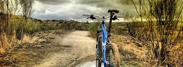 La foto del día en TodoMountainBike: 'El monte de Batres'
