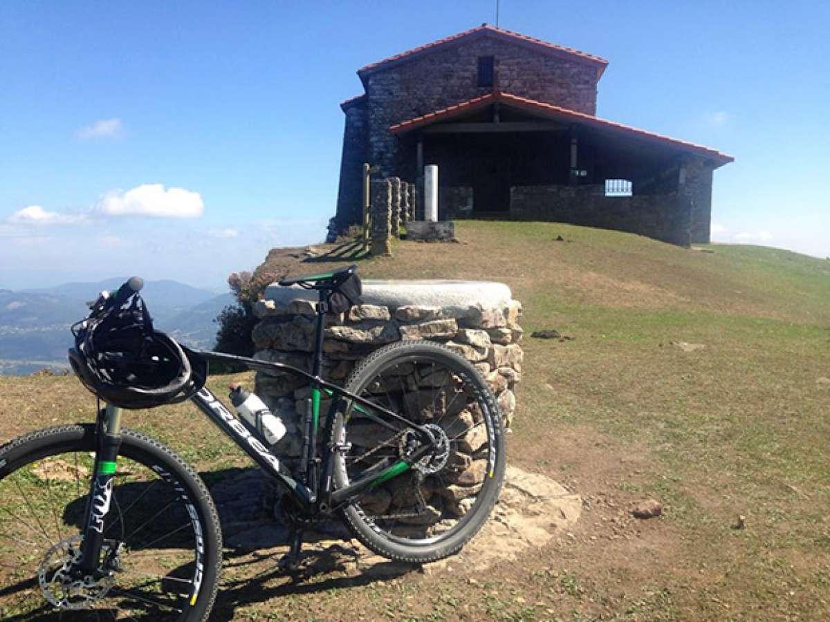 """La foto del día en TodoMountainBike: """"Mañana en el monte Kolitza"""""""