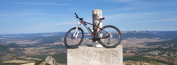 La foto del día en TodoMountainBike: 'Montejurra e Navarra Estella'