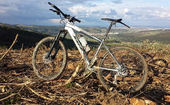 La foto del día en TodoMountainBike: 'Montes de Parbayón'