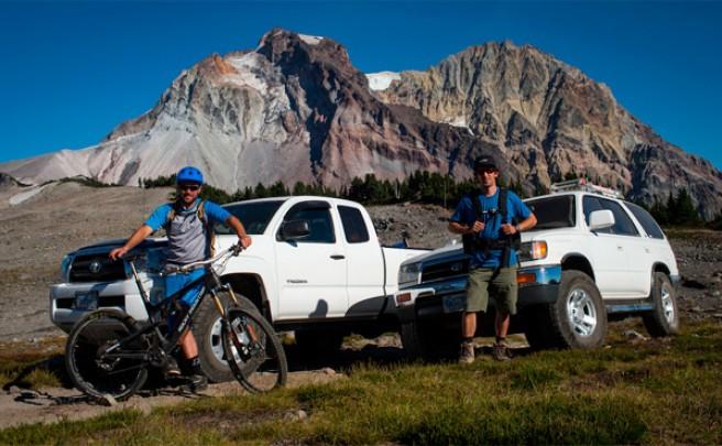 Un día de Mountain Bike con Thomas Vanderham y Sterling Lorence en la Columbia Británica