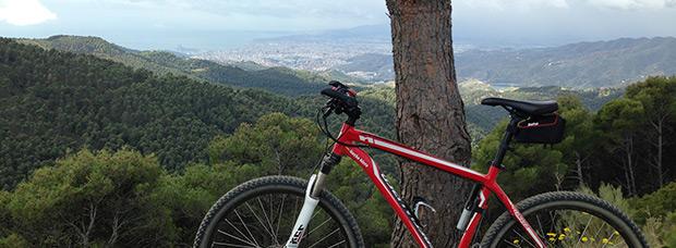 La foto del día en TodoMountainBike: 'Vistas desde el Mirador del Cochino'