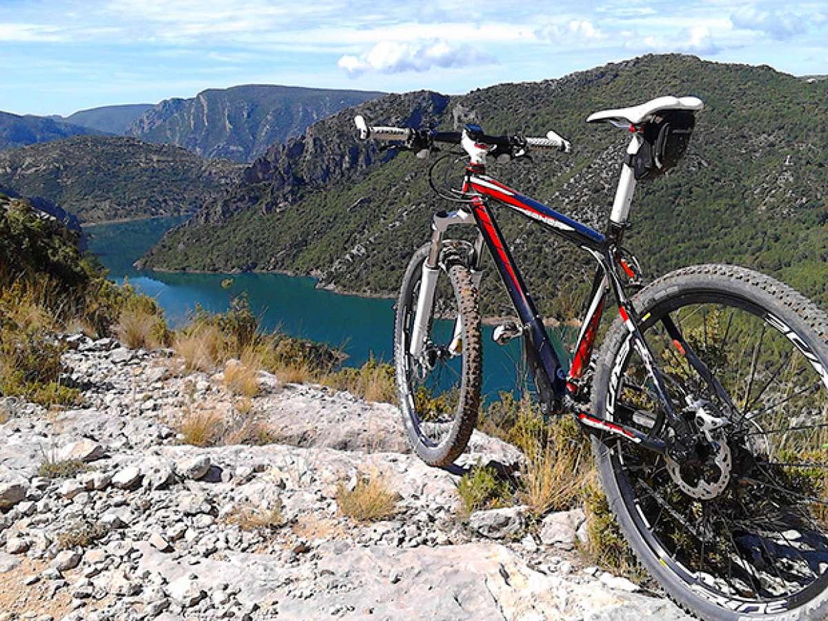 """La foto del día en TodoMountainBike: """"Panorámica del Embalse de Canyelles (Lleida)"""""""