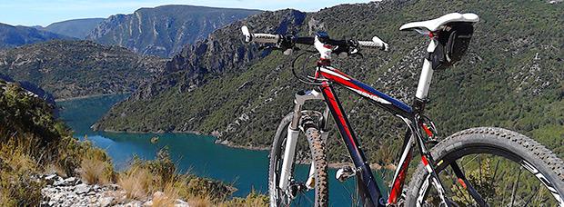 La foto del día en TodoMountainBike: 'Panorámica del Embalse de Canyelles (Lleida)'