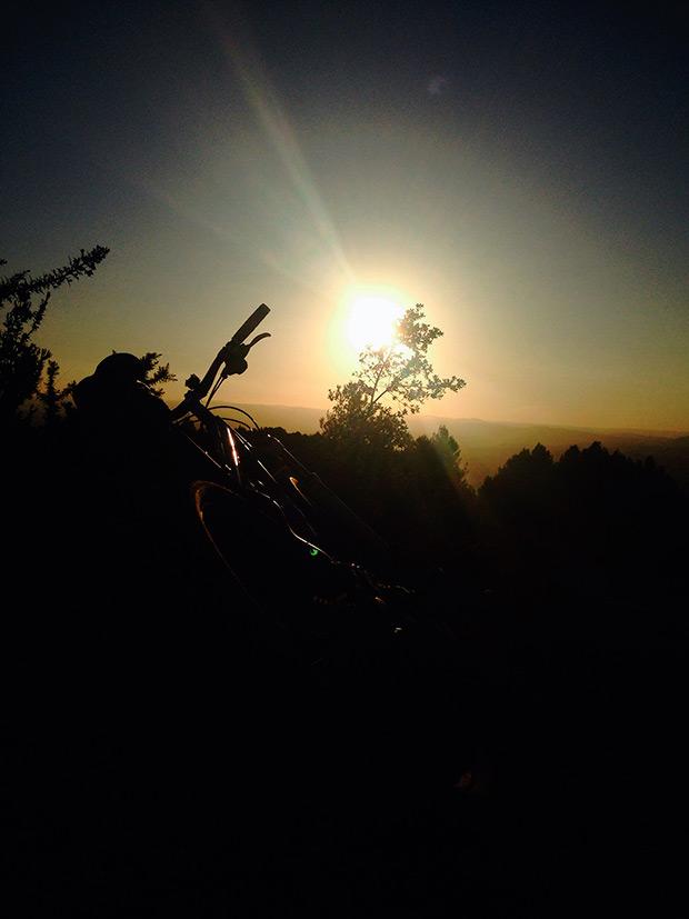 La foto del día en TodoMountainBike: 'Mi lugar, mi bici y yo'