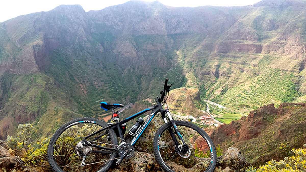 """La foto del día en TodoMountainBike: """"Barranco Guayadeque (Gran Canaria)"""""""