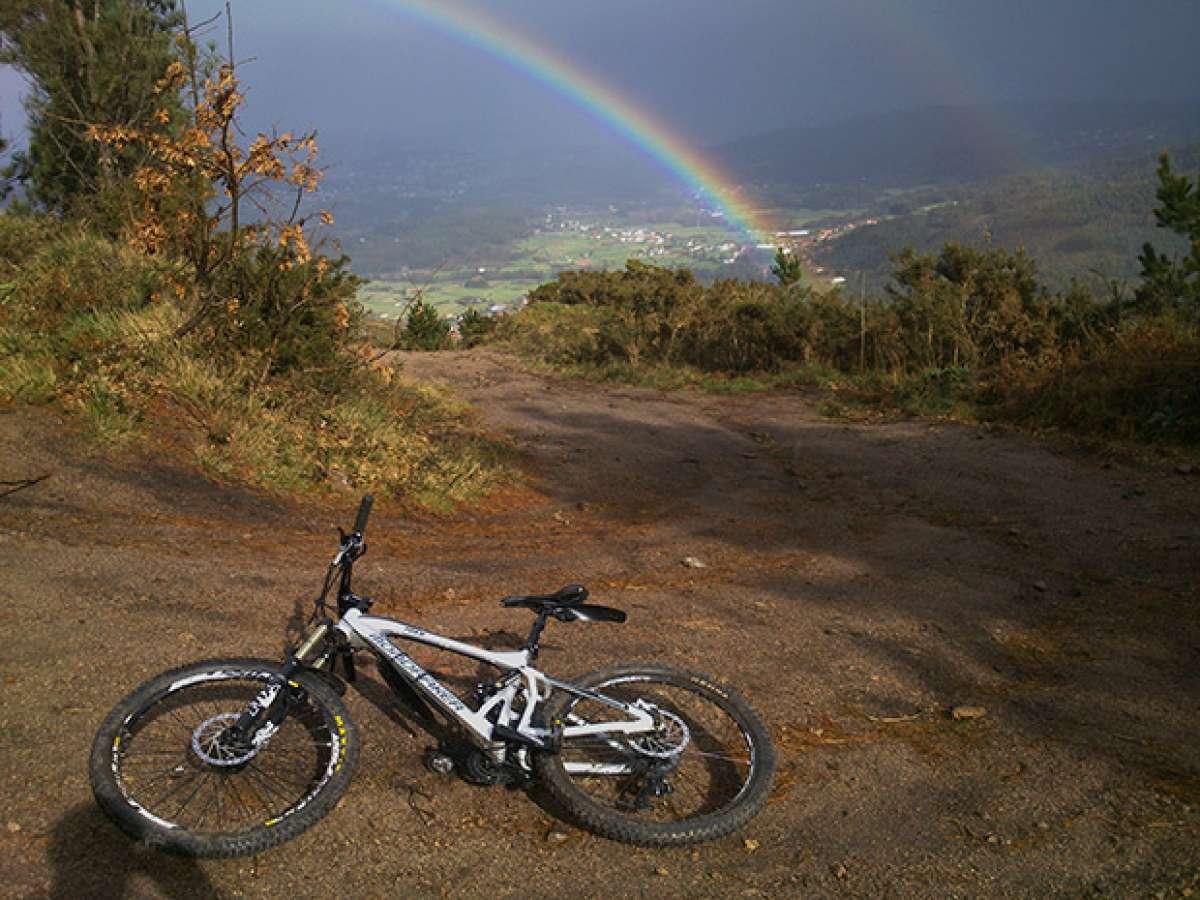 """La foto del día en TodoMountainBike: """"El monte Xalo (A Coruña)"""""""