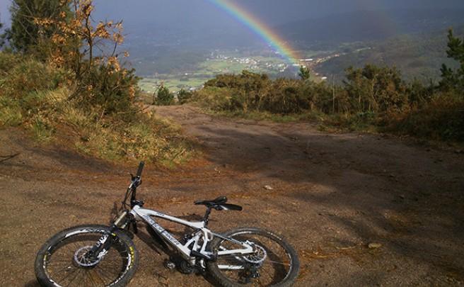 La foto del día en TodoMountainBike: 'El monte Xalo (A Coruña)'