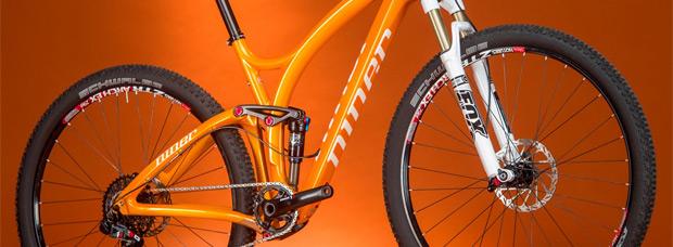 Nuevo y llamativo color naranja para la Niner JET 9 Carbon