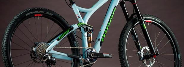 Nuevo cuadro de carbono y nuevo color para la Niner RIP 9 RDO