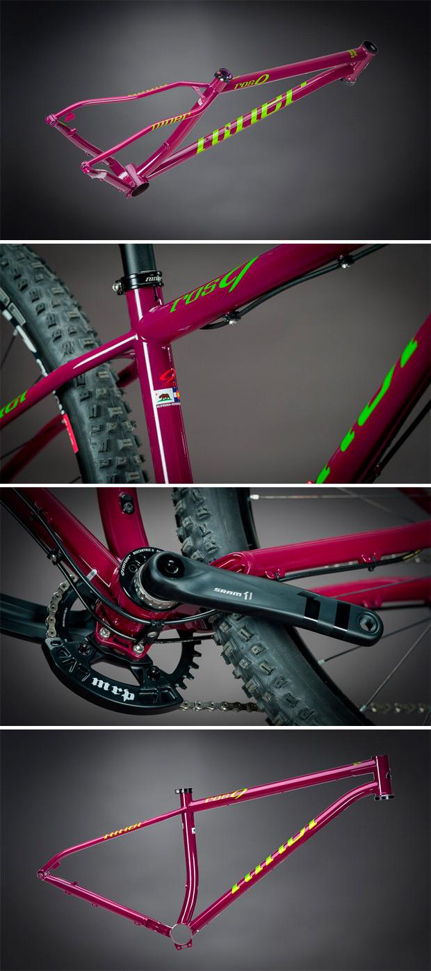 Nuevo color púrpura y nuevos montajes para la Niner ROS 9