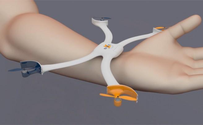 Nixie, un increíble 'drone' de pulsera que grabará nuestras peripecias mientras rodamos