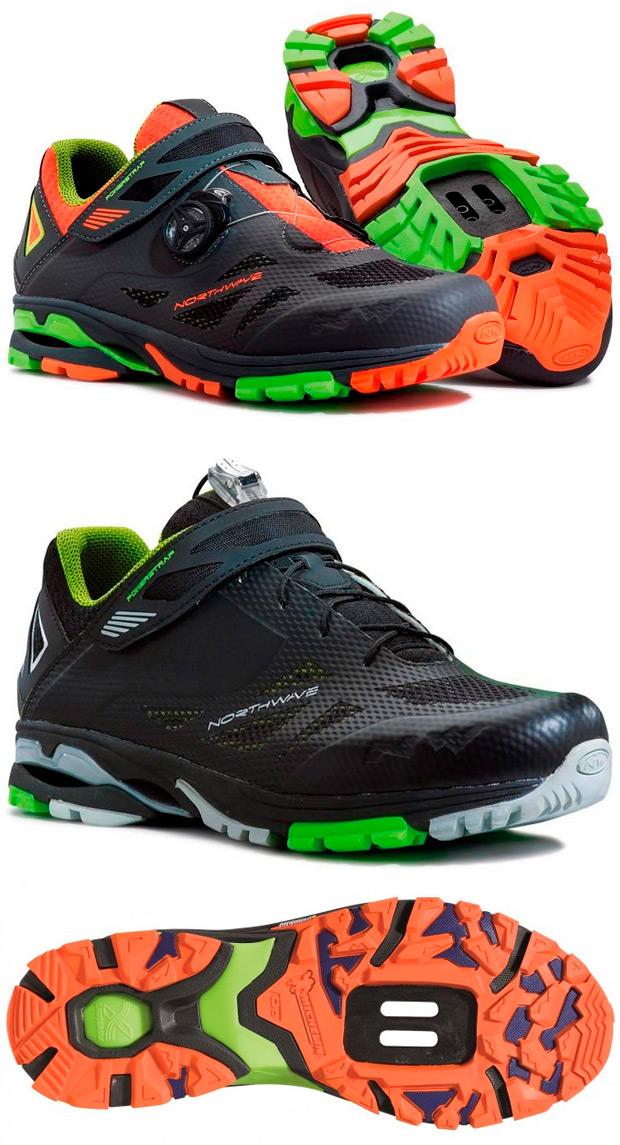 Northwave Dolomites Evo y Northwave Spider, las nuevas zapatillas de la firma con suela Michelin