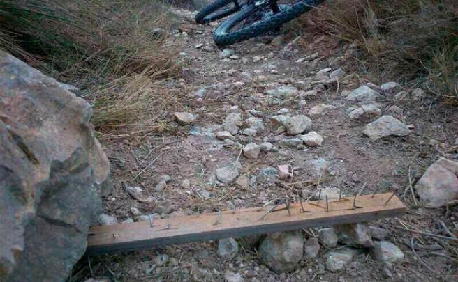 Las trampas para ciclistas, contempladas en la última memoria de la Fiscalía General del Estado Español